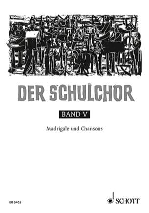 Der Schulchor Bd 5 - Partition - Chœur - laflutedepan.com