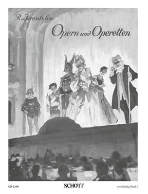 Opern und Operetten, Bd 1 - Partition - Piano - laflutedepan.com