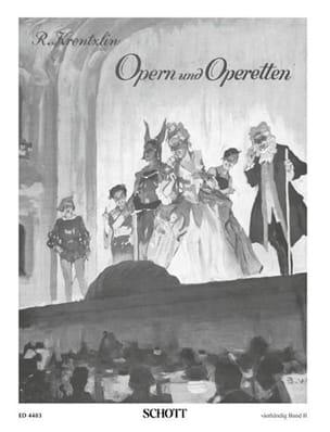 - Opern Und Operetten, Bd 2. 4 Mains - Partition - di-arezzo.fr