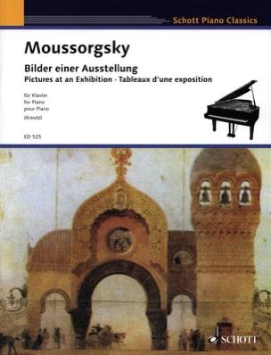 Tableaux D'une Exposition Modest Moussorgsky Partition laflutedepan