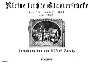 Kleine leichte Klavierstücke - Partition - laflutedepan.com