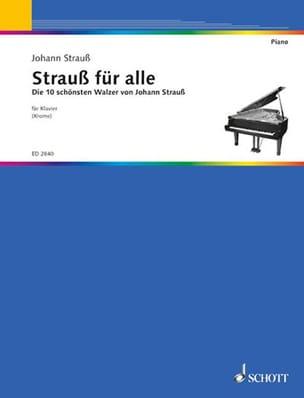 Strauss Für Alle - Johann fils Strauss - Partition - laflutedepan.com