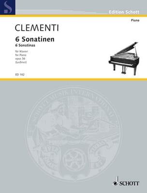 6 Sonatinen, Opus 36 CLEMENTI Partition Piano - laflutedepan