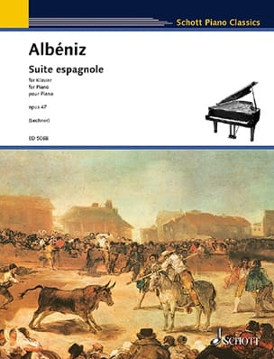 Isaac Albeniz - Spanish Suite Opus 47 - Sheet Music - di-arezzo.co.uk