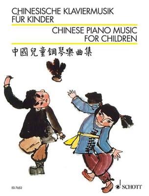 Chinesische Klaviermusik für Kinder - Partition - laflutedepan.com