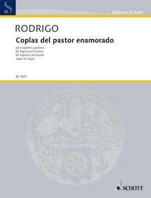 Joaquin Rodrigo - Coplas Del Pastor Enamorado - Sheet Music - di-arezzo.com