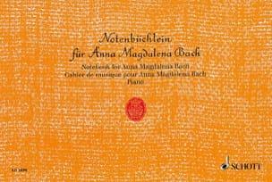 Notenbüchlein für Anna Magdalena Bach - BACH - laflutedepan.com