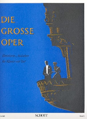 Die Grosse Oper, Bd 1 - Partition - Piano - laflutedepan.com