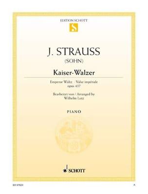 Kaiser-Walzer. Op. 437 - Johann fils Strauss - laflutedepan.com