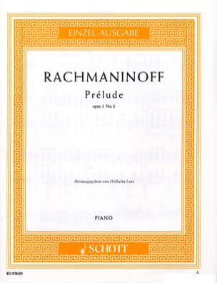 RACHMANINOV - Prelude C sharp Minor Opus 3-2 - Sheet Music - di-arezzo.co.uk