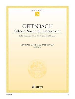 Schöne Nacht, Du Liebesnacht. Les Contes d'Hoffmann - laflutedepan.com