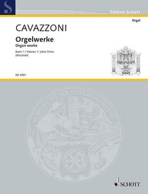 Oeuvre Pour Orgue Livre 1 - Girolamo Cavazzoni - laflutedepan.com