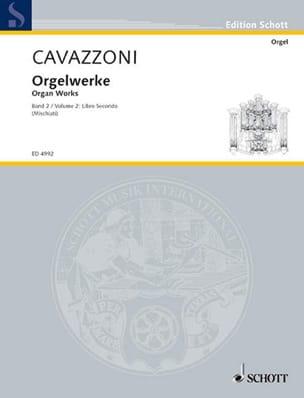 Oeuvre Pour Orgue Livre 2 - Girolamo Cavazzoni - laflutedepan.com