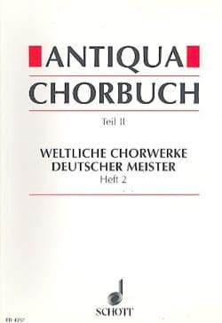 Antiqua Chorbuch, Teil 2 Bd 2 - Partition - laflutedepan.com