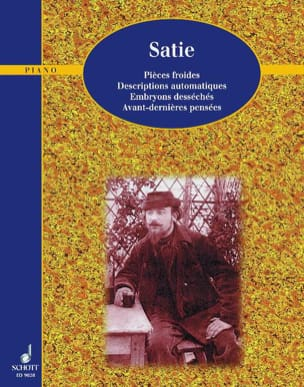 Erik Satie - Klavierwerke, Bd 3 - Partition - di-arezzo.fr