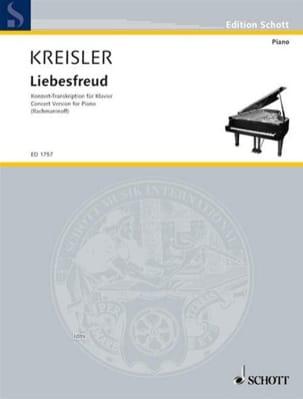Fritz Kreisler - Liebesfreud - Sheet Music - di-arezzo.com