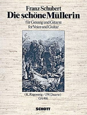 Franz Schubert - Die Schöne Müllerin D 795 Guitar Song - Sheet Music - di-arezzo.co.uk
