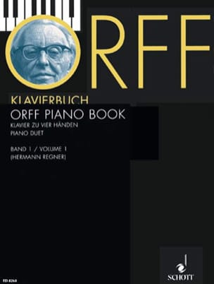 Orff-Klavierbuch Bd 1 - Carl Orff - Partition - laflutedepan.com