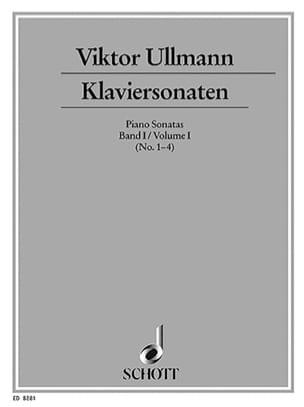 Klaviersonaten, Bd 1 - Viktor Ullmann - Partition - laflutedepan.com