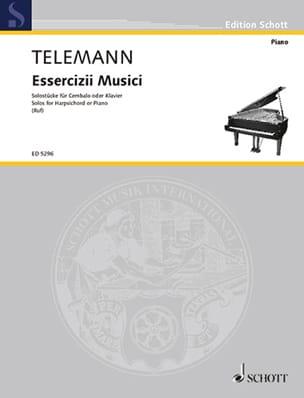 TELEMANN - Solostücke - Partition - di-arezzo.it