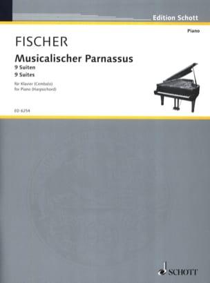 Musicalischer Parnassus Johann Kaspar Ferdinand Fischer laflutedepan