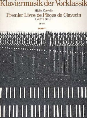 Michel Corrette - 1st Book of Harpsichord Pieces - Partition - di-arezzo.com