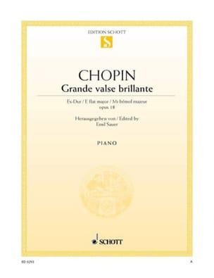 Grande Valse Brillante Opus 18 Mi Bémol Majeur - laflutedepan.com