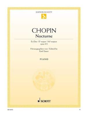 CHOPIN - Nocturne Es-Dur - Partition - di-arezzo.fr