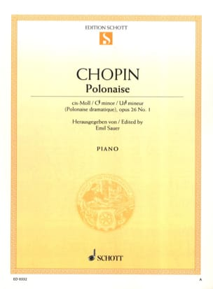 CHOPIN - Polish Ut - Sheet Music - di-arezzo.com