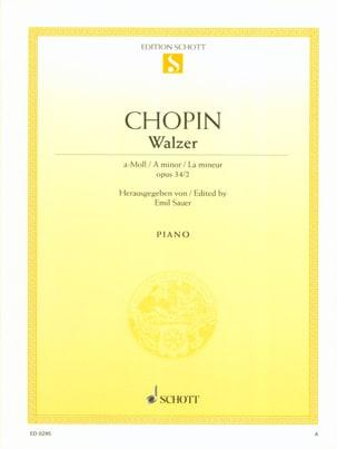 Walzer A-Moll, Opus 34-2 - Frédéric Chopin - laflutedepan.com