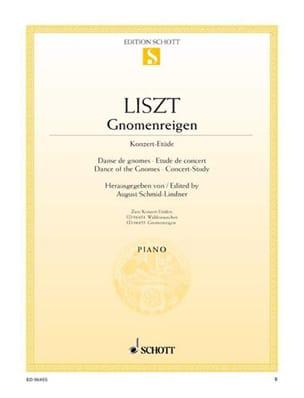 Danse de Gnomes - Franz Liszt - Partition - Piano - laflutedepan.com