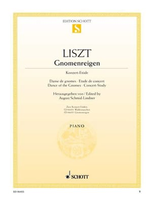 Franz Liszt - Gnomenreigen - Sheet Music - di-arezzo.co.uk