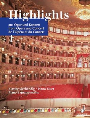 Highlights Aus Oper Und Konzert, Bd 1. 4 Mains laflutedepan