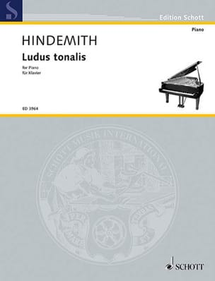 Ludus Tonalis 1942 - HINDEMITH - Partition - Piano - laflutedepan.com