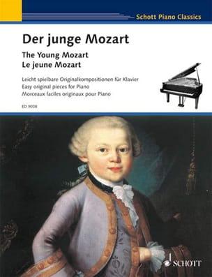 Der junge Mozart MOZART Partition Piano - laflutedepan