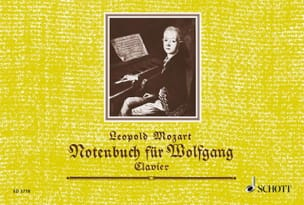 Leopold Mozart - Notenbuch für Wolfgang - Sheet Music - di-arezzo.co.uk
