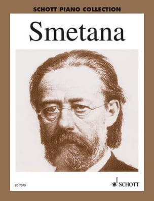 Piano Album SMETANA Partition Piano - laflutedepan