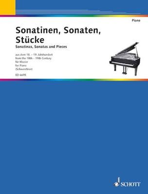 Sonatinen, Sonaten, Stücke - Partition - Piano - laflutedepan.com