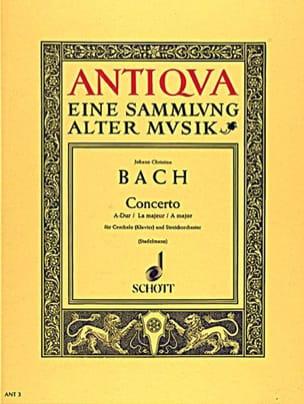 Concerto Pour Clavier En la Majeur Johann Christian Bach laflutedepan