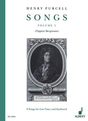 Songs, Bd. 5 PURCELL Partition Mélodies - laflutedepan