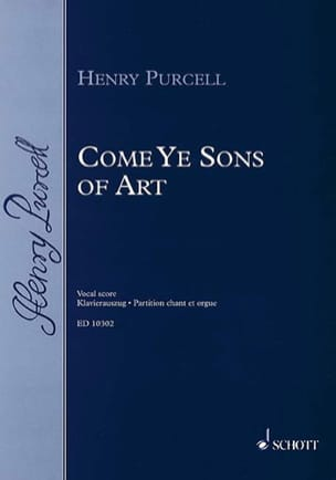 Henry Purcell - Come Ye Sons of Art 1694 - Partition - di-arezzo.fr