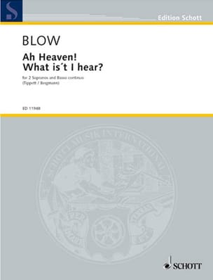 Ah Heaven ! What Is't I Hear John Blow Partition Duos - laflutedepan