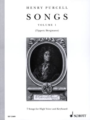 Henry Purcell - Songs, Bd 1. High Voice - Sheet Music - di-arezzo.co.uk