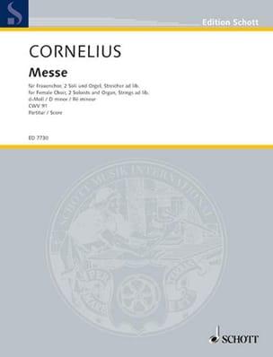 Messe Ré Mineur Cwv 91 - Peter Cornelius - laflutedepan.com