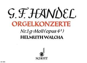 HAENDEL - Concerto N° 1 G-Moll Op. 4-1 - Partition - di-arezzo.fr