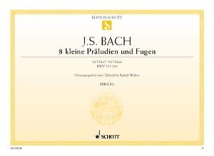 BACH - 8 Little Preludes and Fugues - Sheet Music - di-arezzo.com