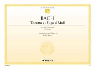 BACH - Toccata and Fugue D Minor BWV 565 - Sheet Music - di-arezzo.com
