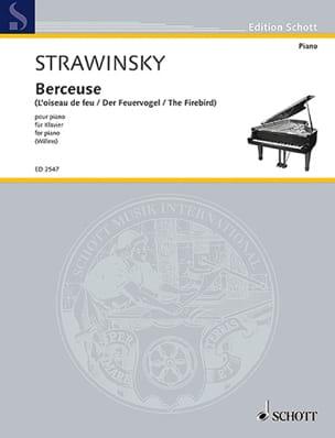 Berceuse de L'oiseau de Feu - Igor Stravinski - laflutedepan.com
