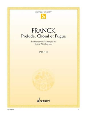 Prélude, Choral et Fugue Opus 21 - César Franck - laflutedepan.com