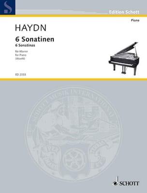6 Sonatines - HAYDN - Partition - Piano - laflutedepan.com